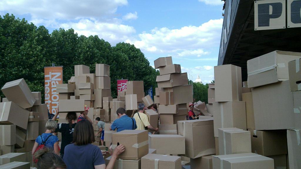 Cardboard Box City