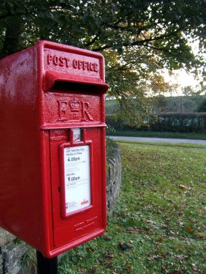 Post Box at Hope Station