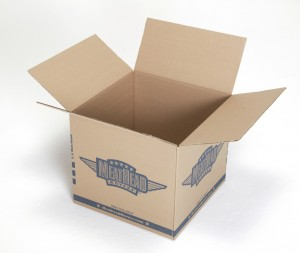 Medium Box, open