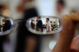 Union Station Through Glasses